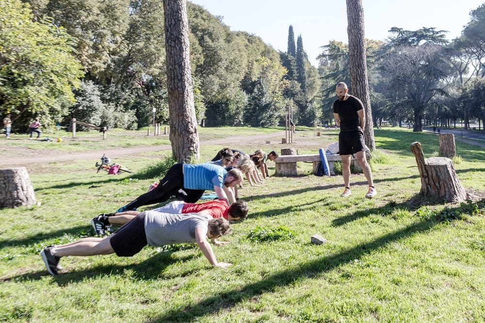 Bootcamp Rome Caracalla