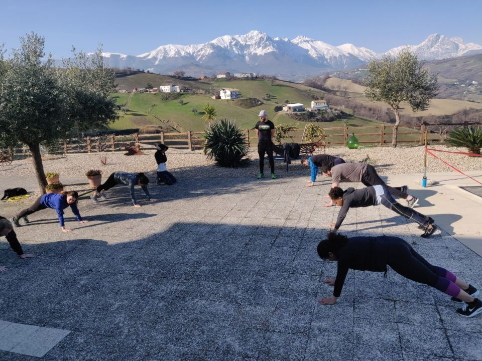Fitness Retreats Gary Cassin Abruzzo